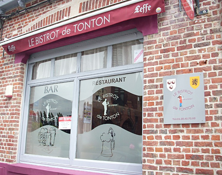 Estaminets flamands : Le bistrot de Tonton ( on y mange ...) à Merris